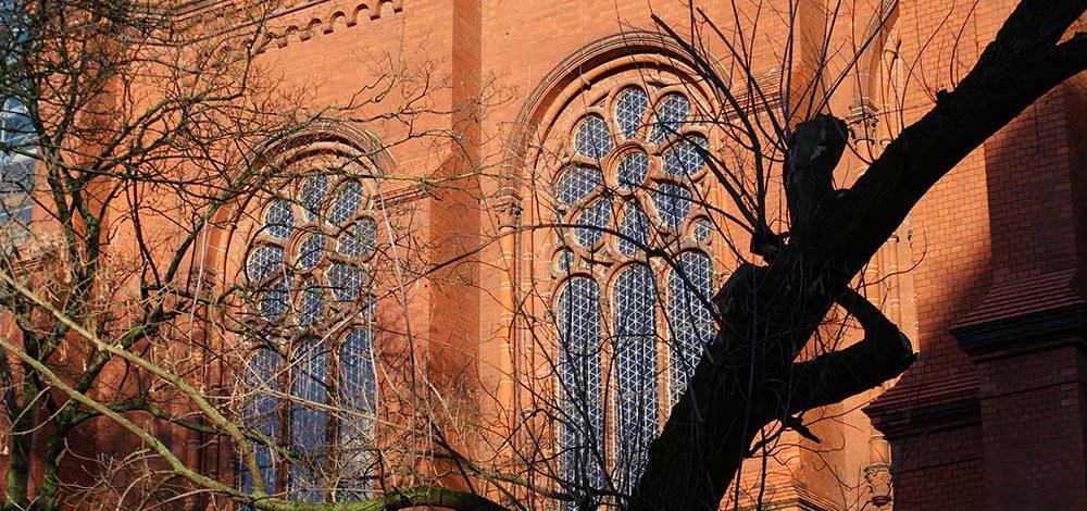 Fassade der Gethsemanekirche
