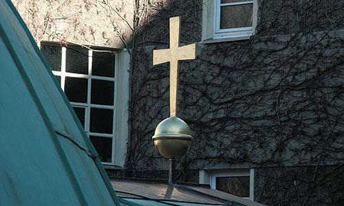 Kreuz der Elias Kuppel