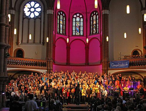 Gospelchor-in-der-Gethsemanekirche