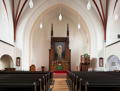 Paul-Gerhardt-Kirche Altarraum
