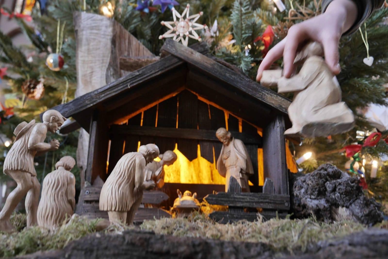 Weihnachtskrippe Gethsemane zwei_fehlen1 Foto P. Steudtner