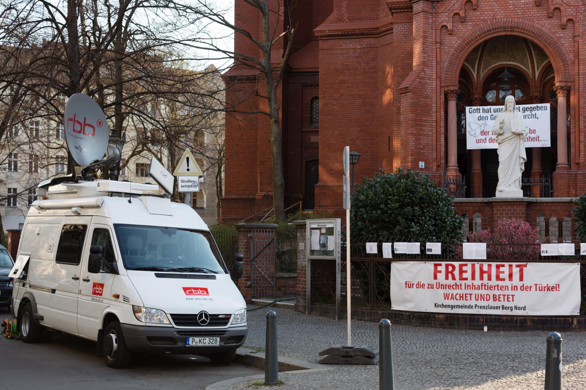 Evangelischer Radiogottesdienst am 30. August aus der Gethsemanekirche